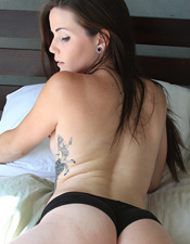 Bree Strips Down In Bed - Picture 15