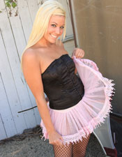 Izzy Lifts Her Tutu And Shows Her Candy - Picture 2